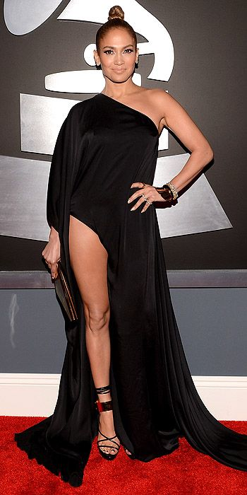 Jennifer Lopez in Anthony Vaccarello Spring 2013