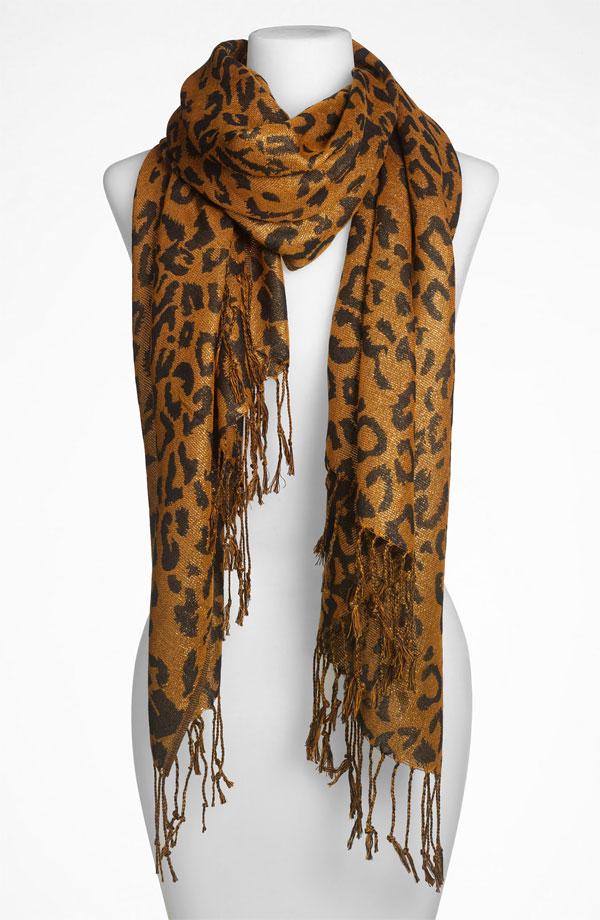 Lulu 'Leopard' Scarf
