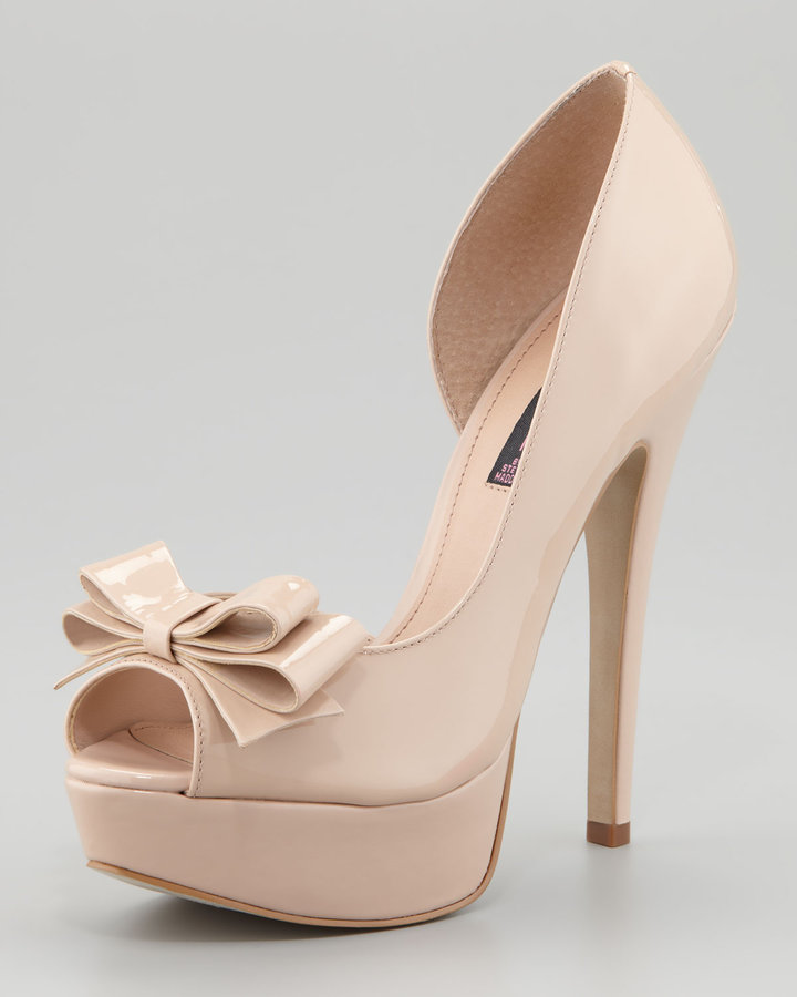 Steven Ariall Patent d'Orsay Pump, Blush