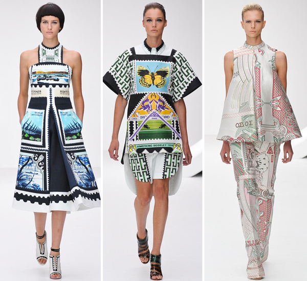 Mary Katrantzou, Spring 2013 Collection ( Link )  Available at Net-a-porter ( Link )
