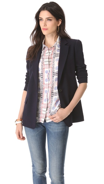 alice + olivia DKNY Notch Collar Jacket