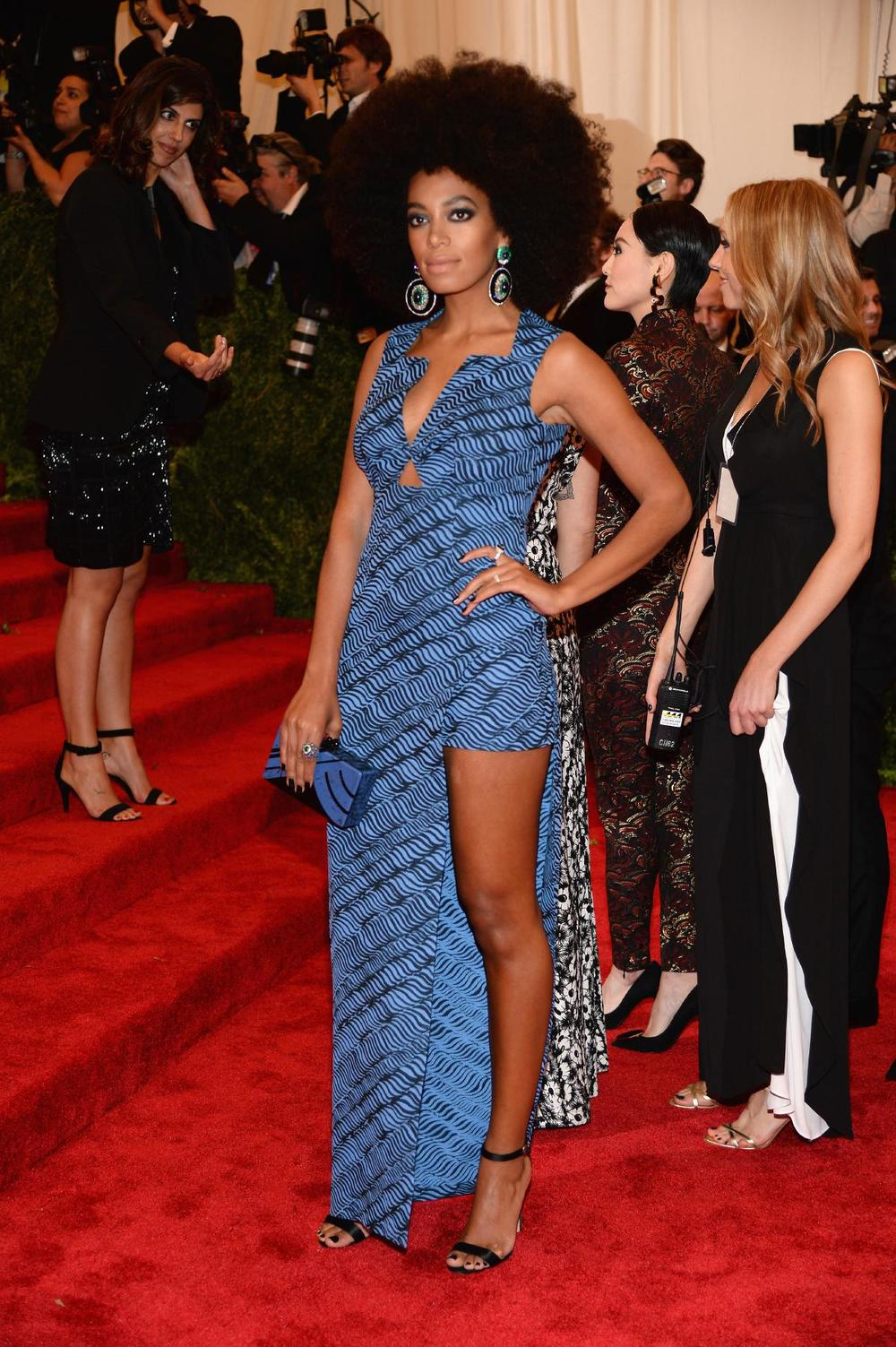Solange Knowles in Kenzo