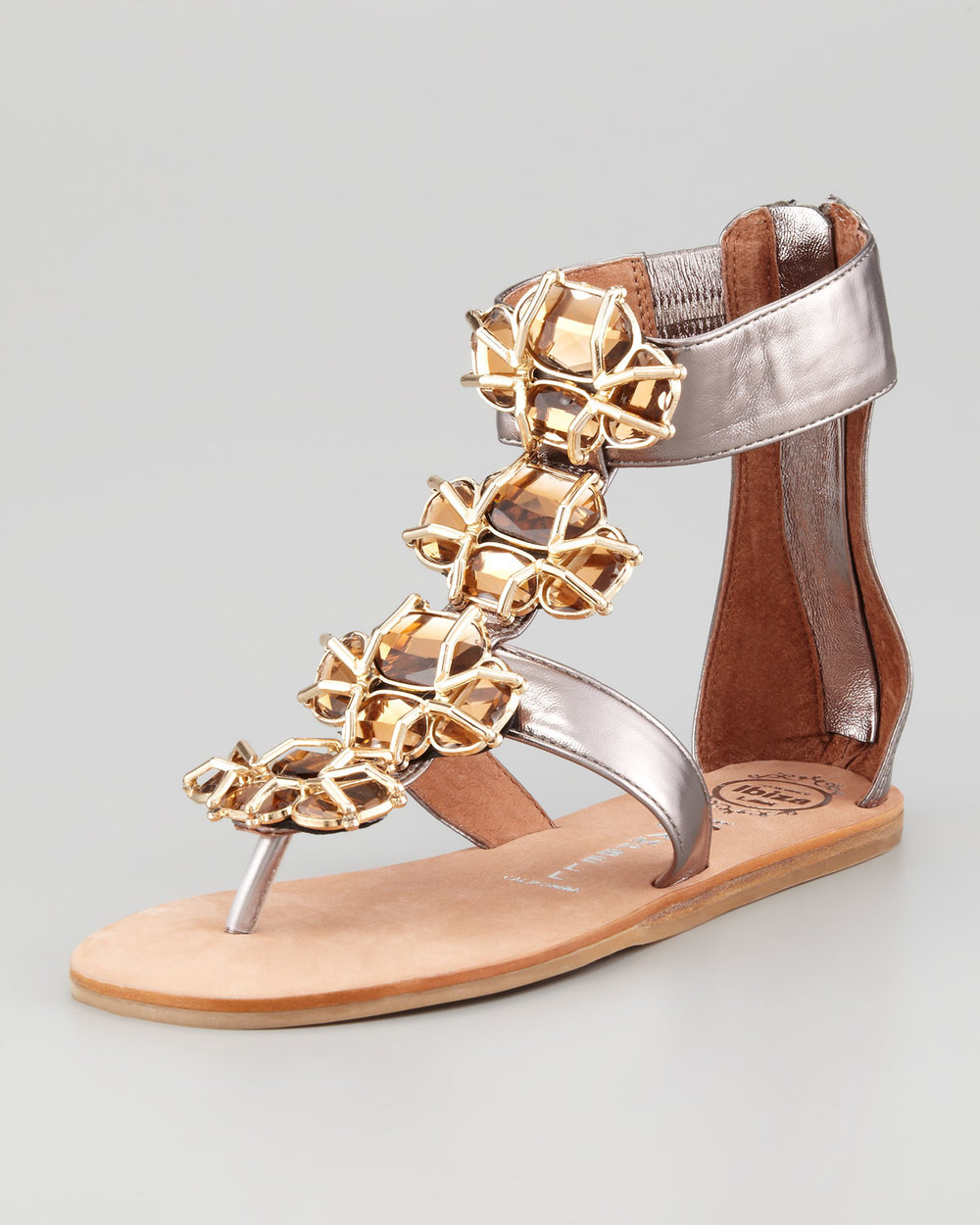 Jeffrey Campbell Tropez Jeweled Sandal