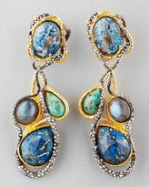 Alexis Bittar Elements Cordova Clip Drop Earrings