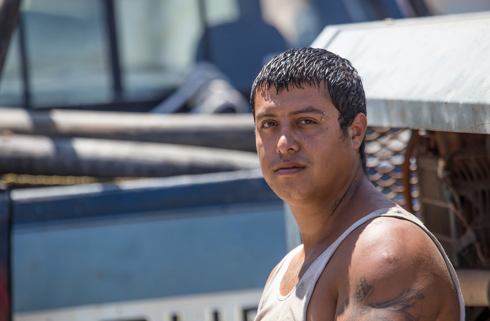 Reynaldo Santana - Cement Worker - Guadalajara, Mexico.