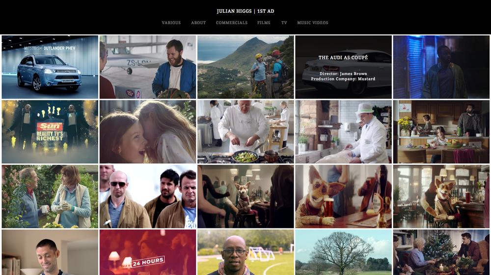 Julian Higgs – 1st Ad