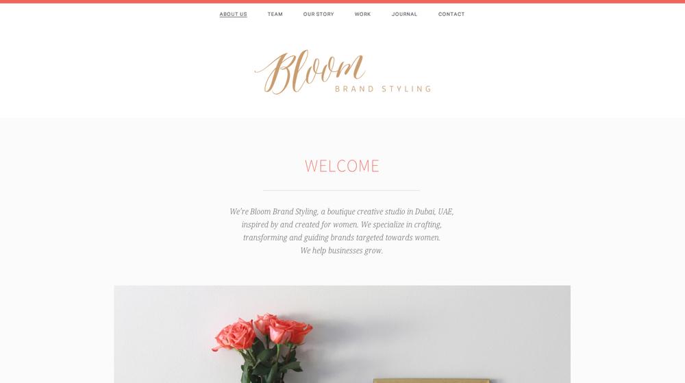Bloom – Brand Styling
