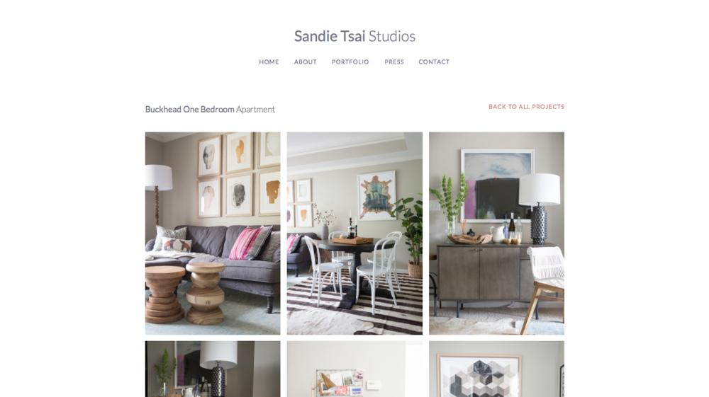 Sandie Tsai Studios –Interior design