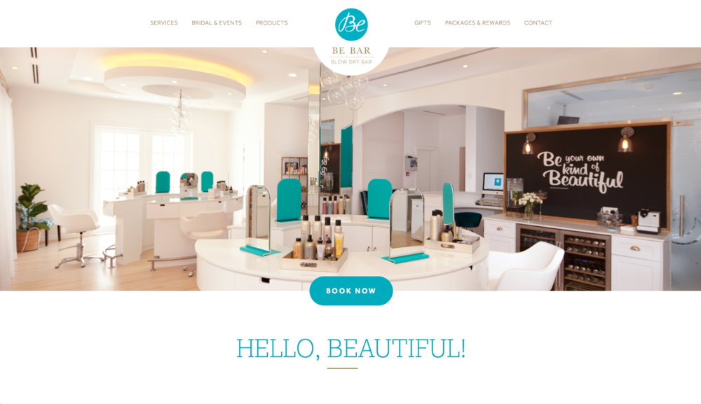 Be Bar – Blow Dry Bar