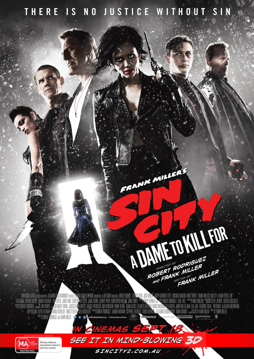 Sin City A Dame To Kill For Cinema Double Pass Giveaways Cult