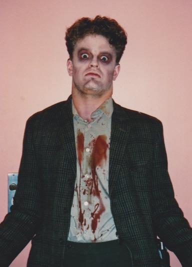 Me as zombie extra.