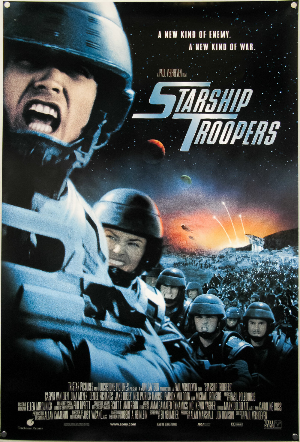 Shameless Pleasures Cult Projections The Circuit Extra Large Movie Poster Image Imp Awards Starship Troopers