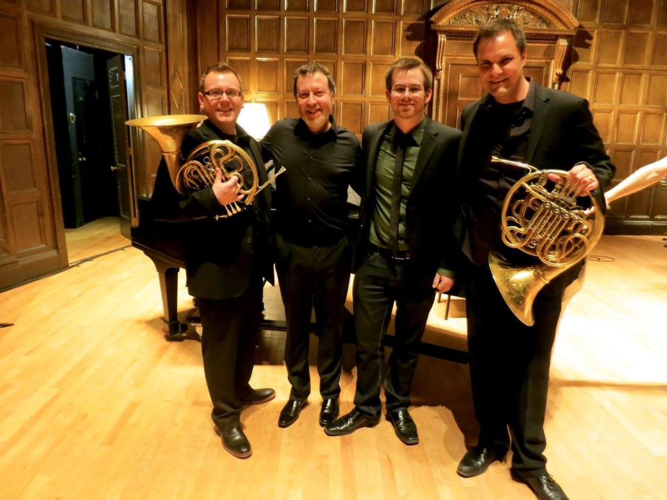 Collaboration with composer Jason Thorpe Buchanan, Jeff Nelsen and Brad Lubman
