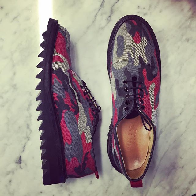 When friends remind you that you made these and still have some left  #itsnotanhourlatergram #camo #denim #wellbredco #shoegame #shoeporn #shoes #americanmade #madeinamerica #dapper #dappermen #eyeonstyle #gqstyle #gq #esquire