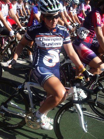 Kangaroo Point Cycling Club member Jessy Byrnes