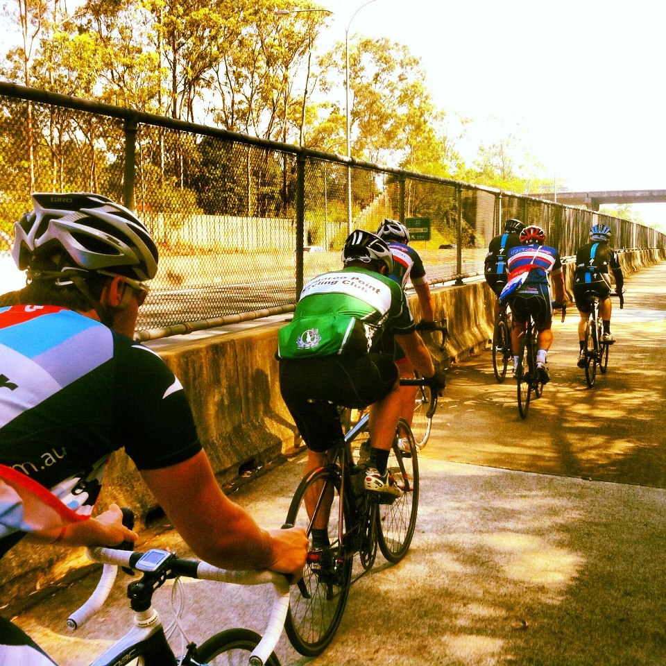 Riders from all of our sponsored teams out for a roll! TeamKP, Mainline, @qsmracing, @crankstar_coach #clubpride