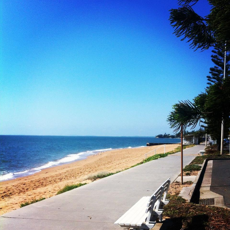 Our Sunday Social Ride visited Redcliffe today. Beautiful day for a swim!