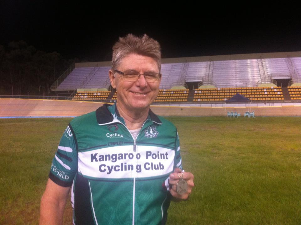 TeamKP's JimC takes another medal, this time a silver, at the @QLDcycling #QLDmasters!