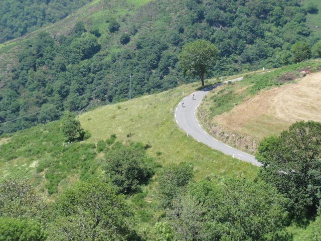 Stunning descents make France a beautiful country to ride through!