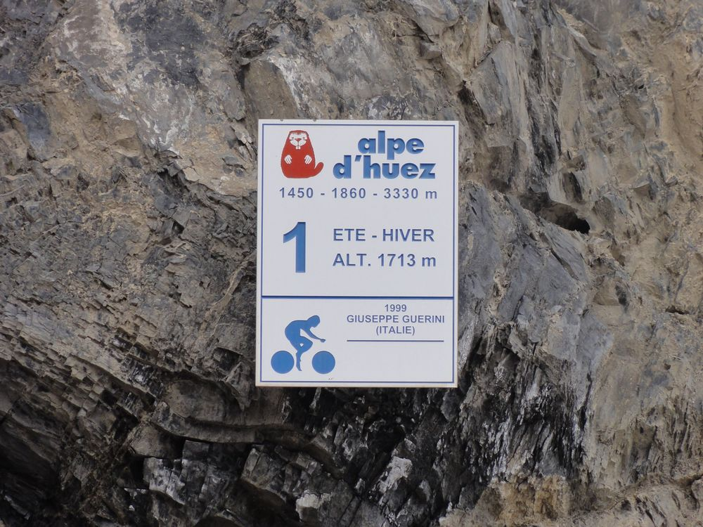 You'll find #TeamKP here- on the final hairpin on Alpe-d'Huez!