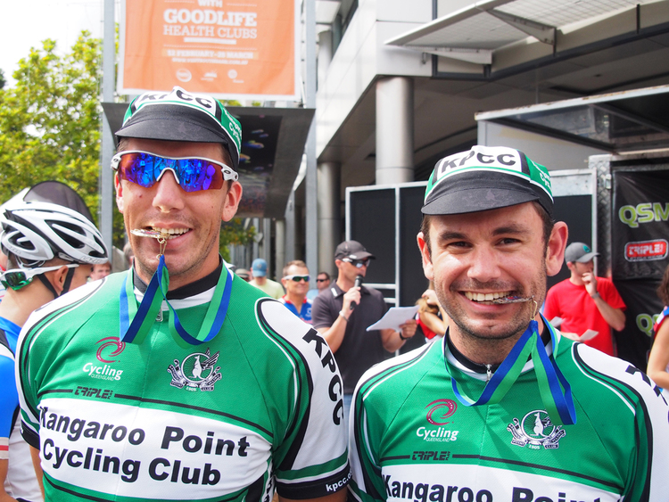 Kieran & Club Captain Cameron Hemming took 2 of the 3 medals on offer in C Grade at the Brisbane Blast!