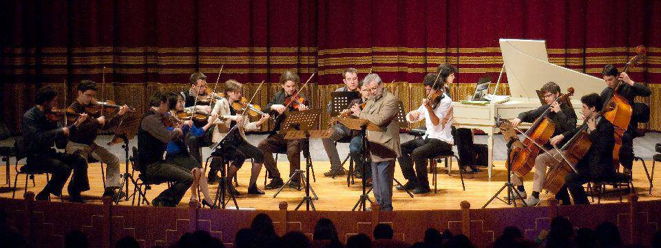 Concert with Sir James Galway at Teatro Verdi, Sassari - April, 2013