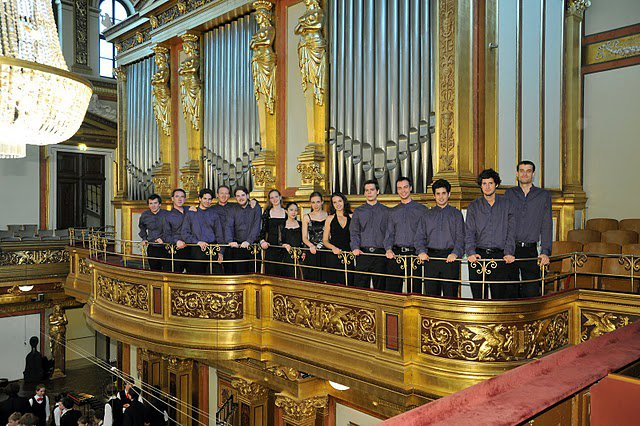 The first prize winner orchestra at the Musikverein, SCL Festival, June 2011