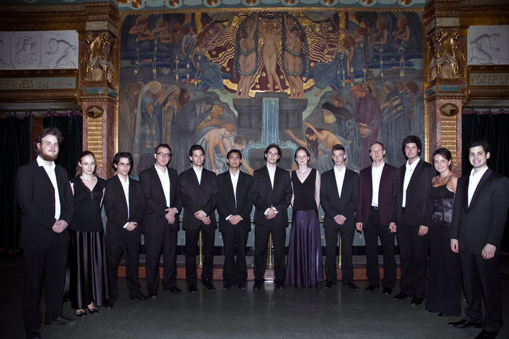 At the Liszt Ferenc Academy of Music, April 2010