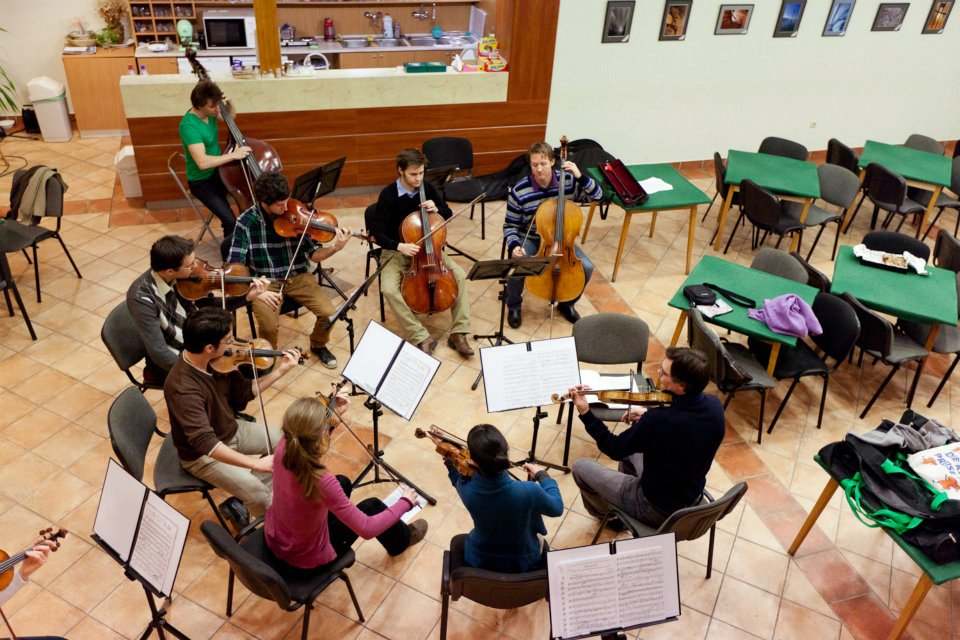 Rehearsal, February, 2012