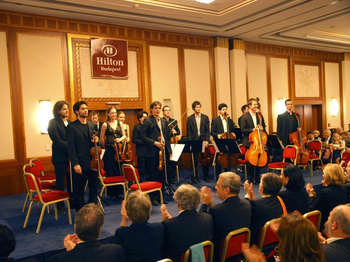 Charity concert in the Hotel Hilton November 2010