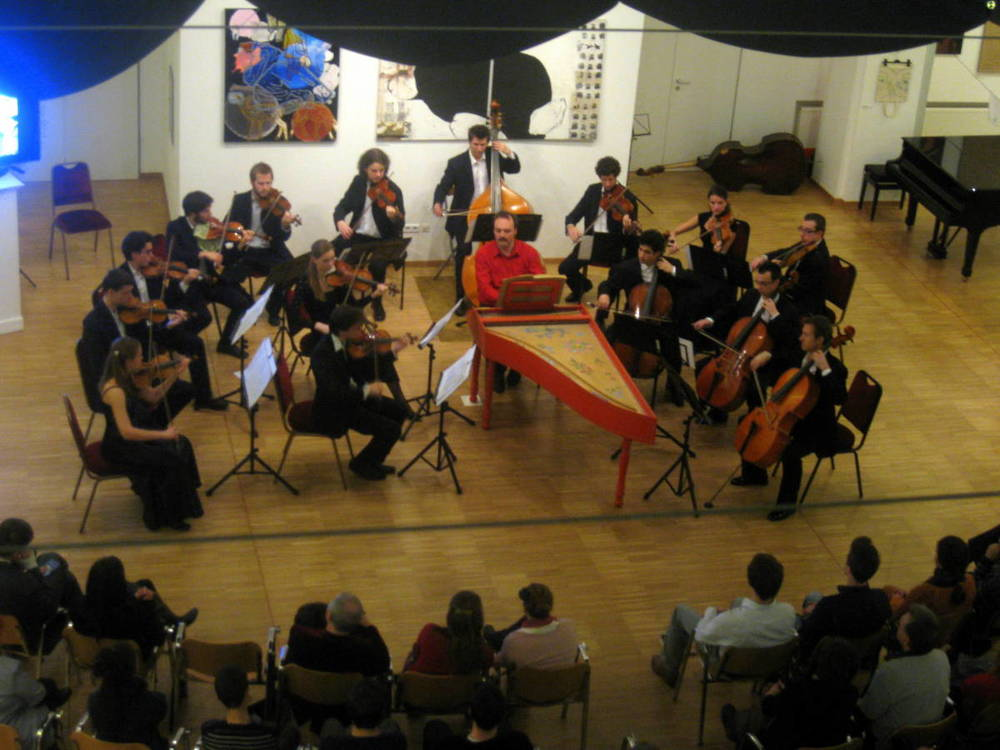 Concert in the Central European University (CEU), December 2011