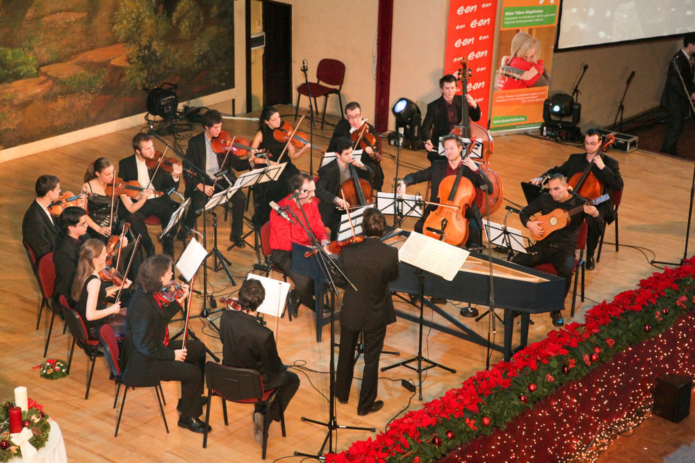 Concert at the Italian Institute, December 2011
