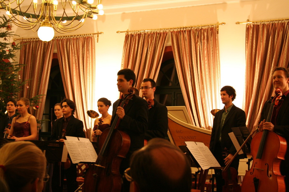 Concert at the Óbudai Társaskör, November 2011