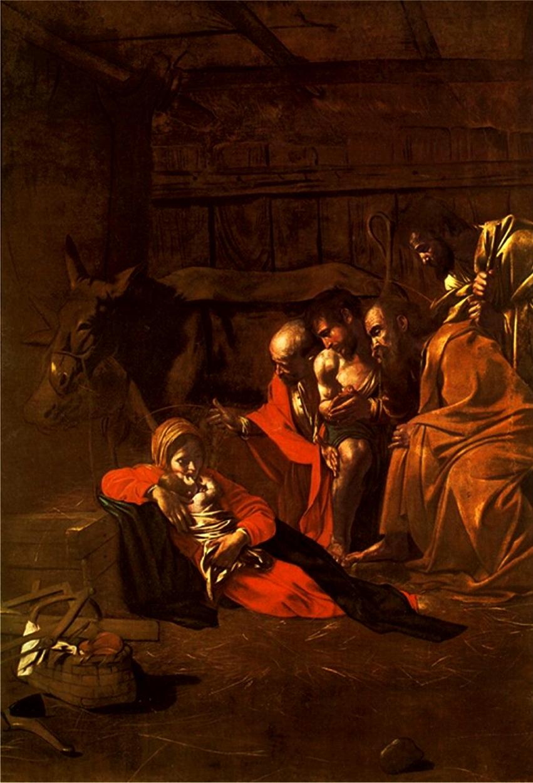 Pásztorok imádata:  Michelangelo Merisi da Caravaggio
