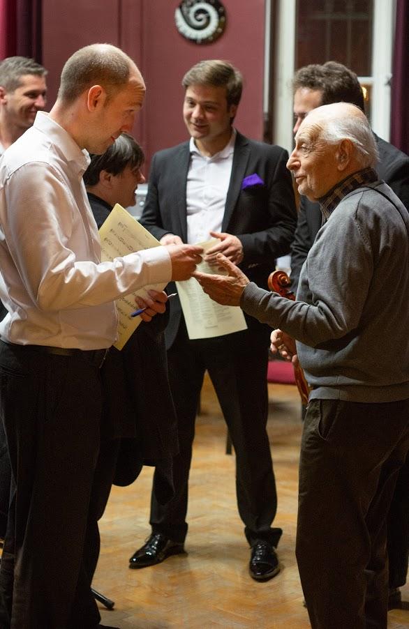 Accord Quartet és Konrád György brácsaművész