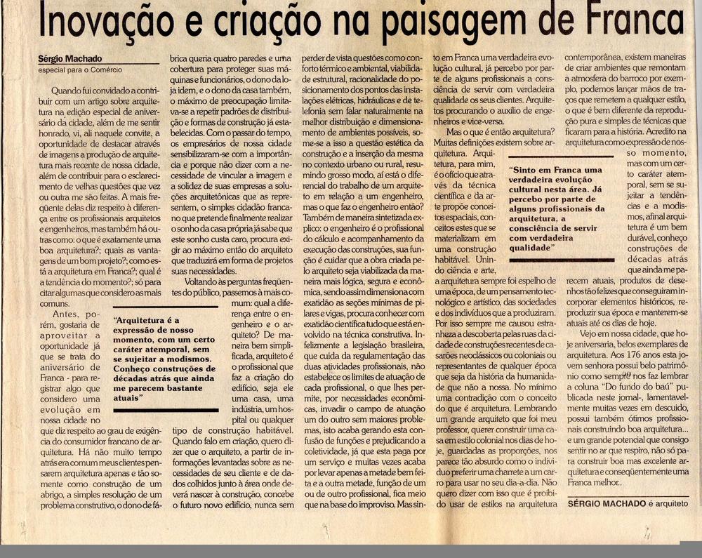 Entrevista Jornal Comércio da Franca - 2000 - 28 novembro.jpg