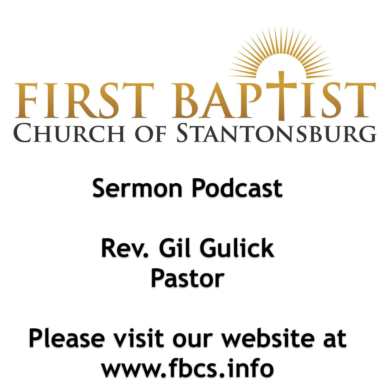 Sermon Podcast - First Baptist Church of Stantonsburg