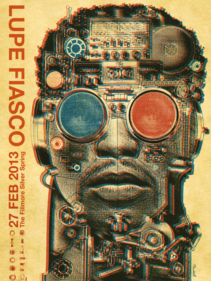 The Fillmore Posters Spur Design