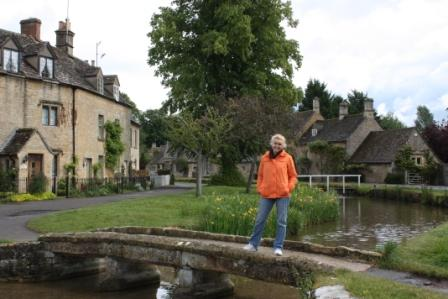 The idyllic little town of Lower Slaughter in the Cotswolds.