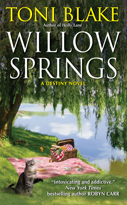 Willow Springs Destiny Series, book 5 July 2012