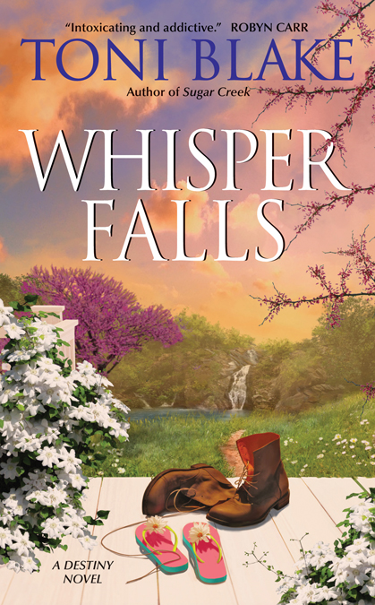 Whisper Falls Destiny Series, book 3 Lucky Romo & Tessa Sheridan January 2011