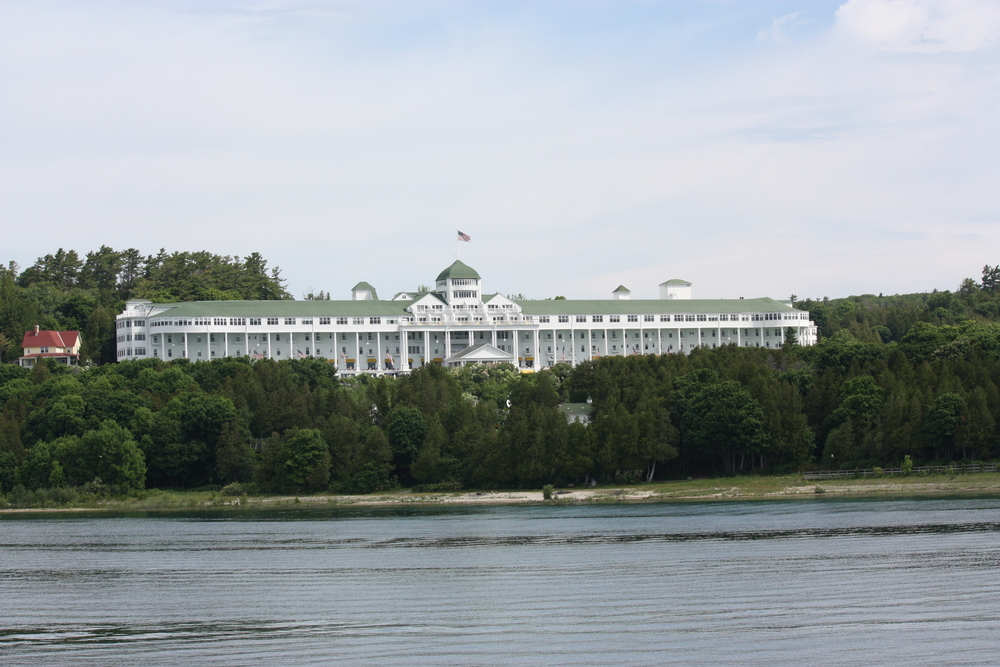 The Grand Hotel, sporting the longest Colonial style porch in the world