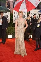 Toni Colette on the Golden Globes Red Carpet