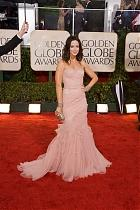 Emily Blunt on the Golden Globes Red Carpet
