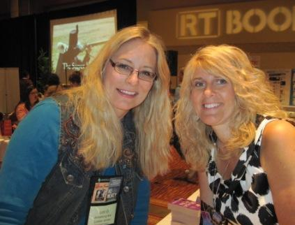 Lori Armstrong and Toni Blake