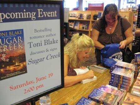 Toni signing at Joseph Beth in Lexington, KY