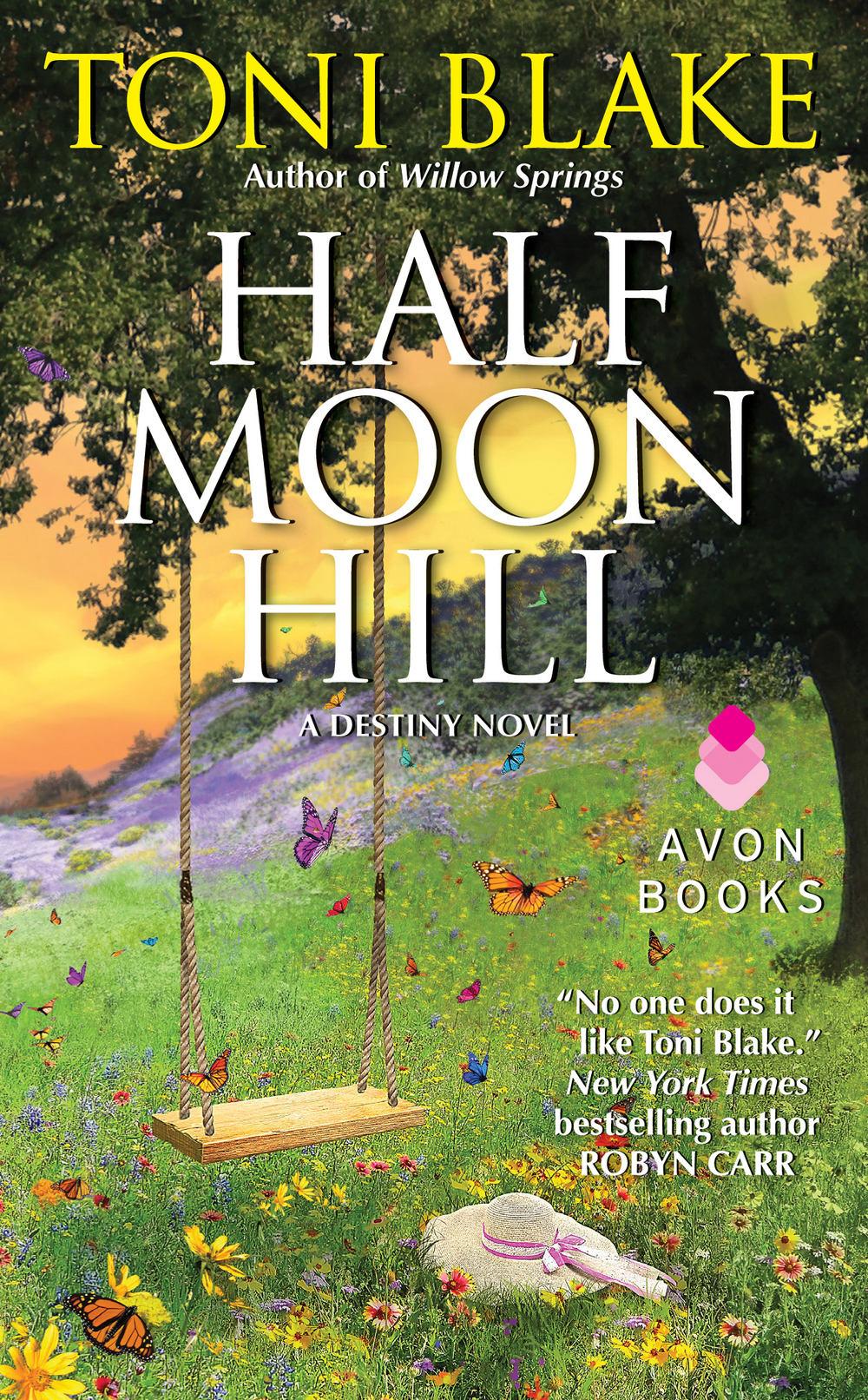 Half Moon Hill releases April 29, 2013 and is available for pre-order at Amazon and Barnes & Noble.