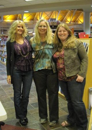 Toni, Lori Armstrong/Lorelei James, and Lindsey Faber, who is Toni's close friend, assistant, and also managing editor at Samhain Publishing
