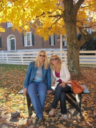 The following day, Toni, Lori, and Lindsey visited Shakertown at Pleasant Hill, a historic Kentucky area and one of Toni's favorite places.