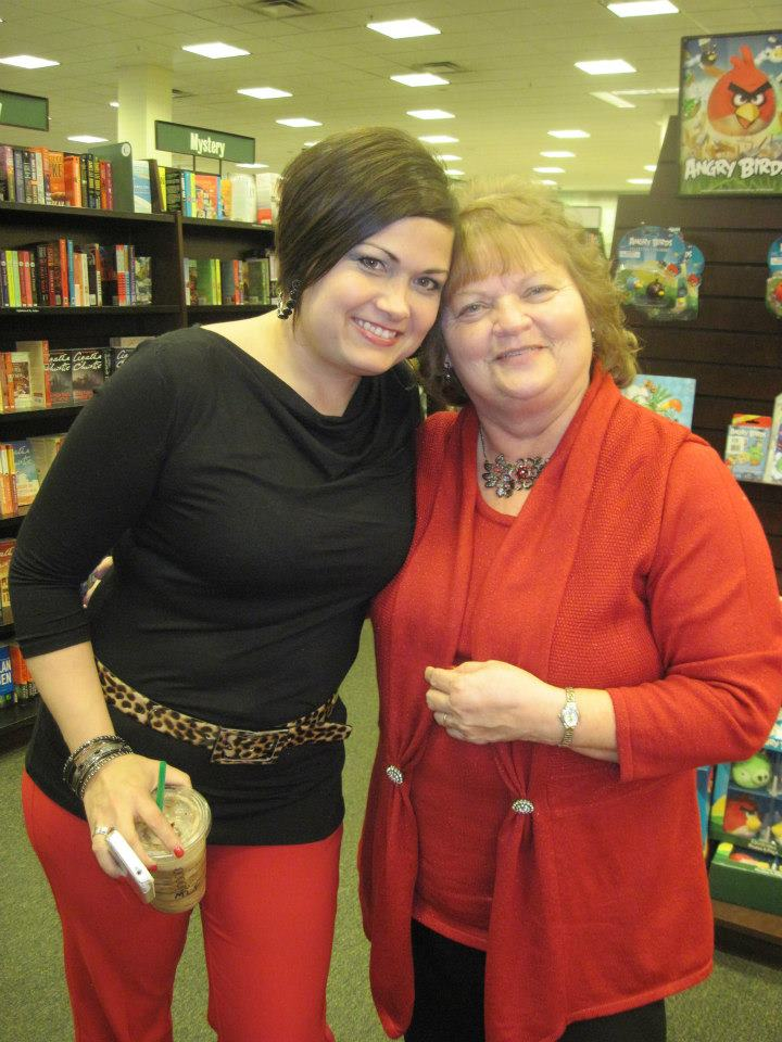 Author friends Jules Bennett and Becky Barker     — at   Barnes & Noble, Westchester, OH  .